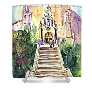 Stairway To Heaven In Llansa Shower Curtain