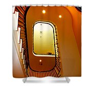 Stairway To Heaven Shower Curtain by Karen Wiles