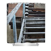 Stairway To Humdrum Shower Curtain