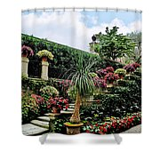 Stairway To Isola Bella Shower Curtain
