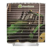 Stairway To John Deere Heaven Shower Curtain by Janice Rae Pariza