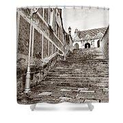 Stairway To Salvation  Shower Curtain