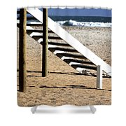 Stairway To Summer  Shower Curtain