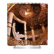 Stairway To The Angles Shower Curtain