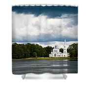 Stameriena Orthodox Church Shower Curtain