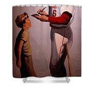 Stan Musial Mural Shower Curtain