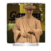 Living Statue Shower Curtain