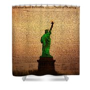 Stand Up For Freedom Shower Curtain