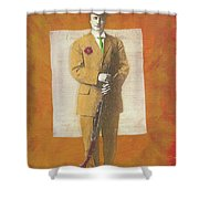 Stand Up For The Second Amendment Shower Curtain