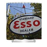 Standard Esso Dealer Shower Curtain