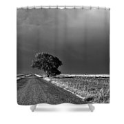 Standing All Alone Shower Curtain