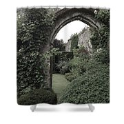 Standing Arch Shower Curtain