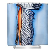 Standing Honor Shower Curtain