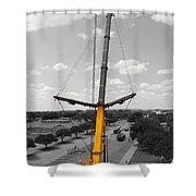 Standing Tall Bw Shower Curtain