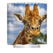 Standing Tall V2 Shower Curtain