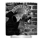 Standpipe Shower Curtain