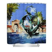 Stanford Claw Shower Curtain