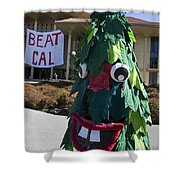 Stanford Tree Mascot Beat Cal Shower Curtain