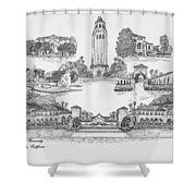 Stanford University Shower Curtain