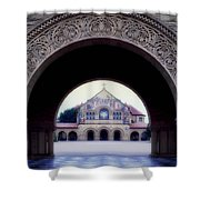 Stanford University Memorial Church Shower Curtain