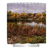Stanislaus Watershed Shower Curtain