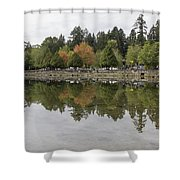 Stanley Park In Vancouver Bc Canada Shower Curtain