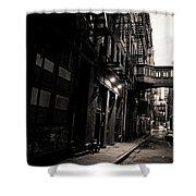 Staple Street - Tribeca - New York City Shower Curtain by Vivienne Gucwa