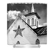 Star Barn Infrared Shower Curtain