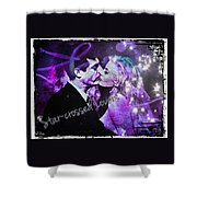 Star-crossed Lovers Shower Curtain