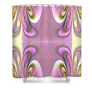 Star Elite Abstract Shower Curtain