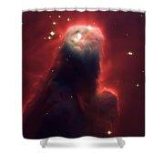 Star Former Cone Nebula Shower Curtain