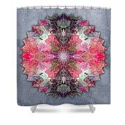 Star Mandala B Shower Curtain