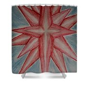 Star Of Hope Shower Curtain