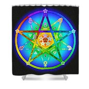 Star Sense Creation Shower Curtain