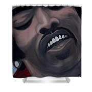 Star Spangled Jimi Shower Curtain