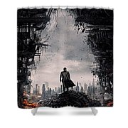 Star Trek into Darkness  Shower Curtain by Movie Poster Prints