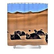 Star Wars Desert Animals Shower Curtain
