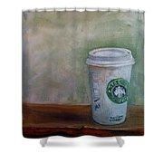Starbucks Coffee Shower Curtain