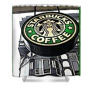 Starbucks Logo Shower Curtain
