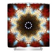 Starburst Galaxy M82 I Shower Curtain