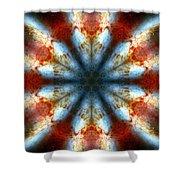 Starburst Galaxy M82 IIi Shower Curtain