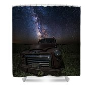 Stardust And Rust Gmc  Shower Curtain