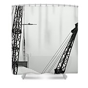 Stare Contest IIi Shower Curtain