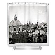 Serene Prague Shower Curtain