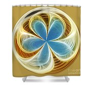 Starfish To Flower - Orb 2 Shower Curtain