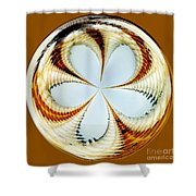 Starfish To Flower - Orb Shower Curtain
