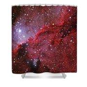 Starforming Emission Nebula Ngc 6188 Shower Curtain