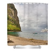 Stargazer Yacht Shower Curtain