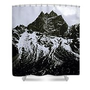 Stark Himalayas Shower Curtain