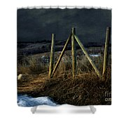 Starless Canadian Sky Shower Curtain